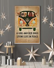 Dictionary Girl In Peace Corgi 11x17 Poster lifestyle-holiday-poster-1