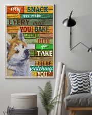 Akita Every Snack You Make 11x17 Poster lifestyle-poster-1
