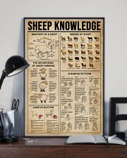 Sheep Knowledge Farm Life 11x17 Poster lifestyle-poster-2