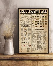 Sheep Knowledge Farm Life 11x17 Poster lifestyle-poster-3
