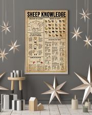 Sheep Knowledge  16x24 Poster lifestyle-holiday-poster-1