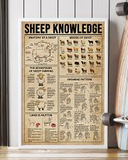 Sheep Knowledge  16x24 Poster lifestyle-poster-4