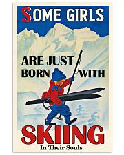 Skiing In Their Souls 16x24 Poster front