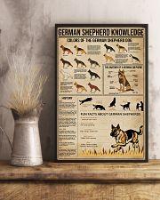 Knowledge German Shepherd 11x17 Poster lifestyle-poster-3