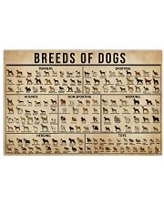 Breeds Of Dogs 17x11 Poster front