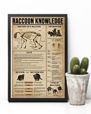 Raccoon Knowledge 11x17 Poster lifestyle-poster-8
