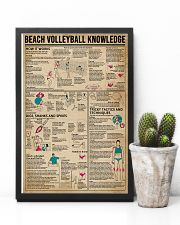 Beach Volleyball Knowledge 11x17 Poster lifestyle-poster-8