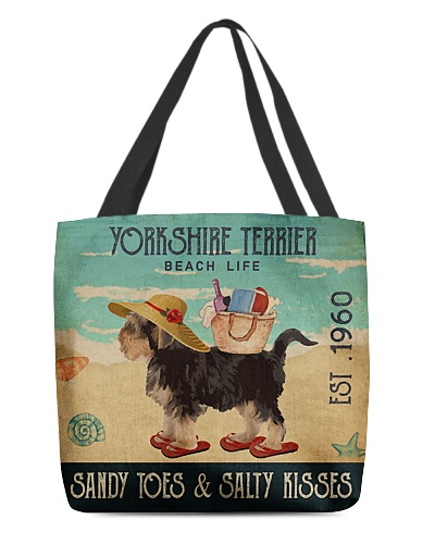 Beach Life Sandy Toes Yorkshire Terrier