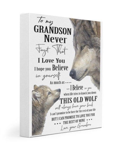 Family Never Forget That I Love You Wolf