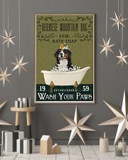 Olive Bath Soap Company Bernese Mountain Dog 11x17 Poster lifestyle-holiday-poster-1