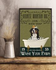 Olive Bath Soap Company Bernese Mountain Dog 11x17 Poster lifestyle-poster-3
