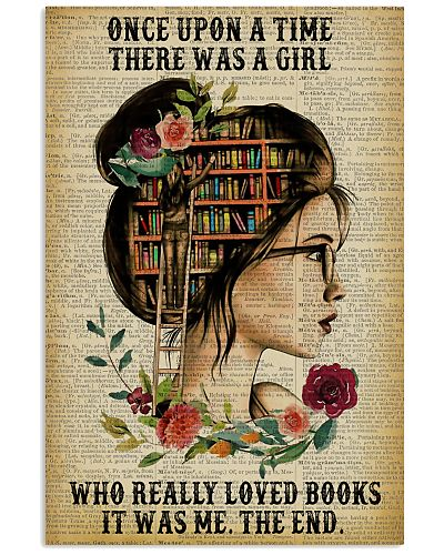 Once Upon A Time Reading Girl