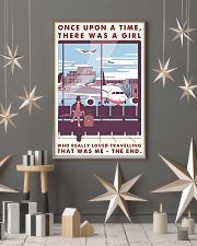 Once Upon A Time Girl Loved Traveling 16x24 Poster lifestyle-holiday-poster-1