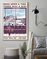 Once Upon A Time Girl Loved Traveling 16x24 Poster lifestyle-poster-1