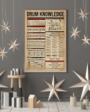 Drum Knowledge 16x24 Poster lifestyle-holiday-poster-1