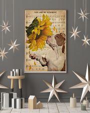 Music Sheet Sunflower My Sunshine Pitbull 11x17 Poster lifestyle-holiday-poster-1