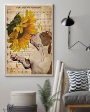 Music Sheet Sunflower My Sunshine Pitbull 11x17 Poster lifestyle-poster-1