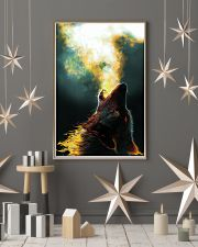 Wolf Howling 11x17 Poster lifestyle-holiday-poster-1