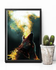 Wolf Howling 11x17 Poster lifestyle-poster-8