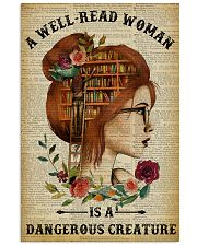 Dangerous Creature Redhead Reading 11x17 Poster front