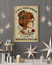Dangerous Creature Redhead Reading 11x17 Poster lifestyle-holiday-poster-1