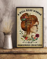 Dangerous Creature Redhead Reading 11x17 Poster lifestyle-poster-3