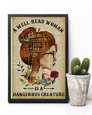 Dangerous Creature Redhead Reading 11x17 Poster lifestyle-poster-8