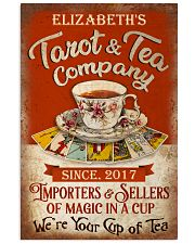 Personalized Tarot Tea Company 16x24 Poster front