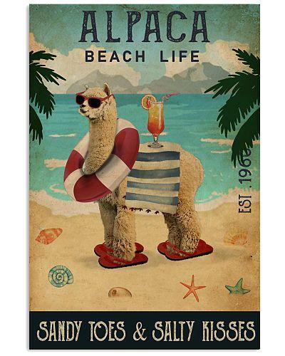Vintage Beach Cocktail Life Alpaca