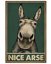 Green Nice Arse Donkey 16x24 Poster front