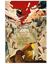And Into The Mountain Skiing 16x24 Poster front