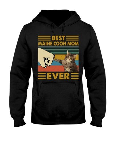 Retro Blue Best Maine Coon Mom Ever