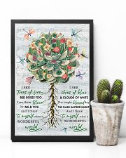 Succulent Plant And Dragonfly Wonderful World 11x17 Poster lifestyle-poster-8