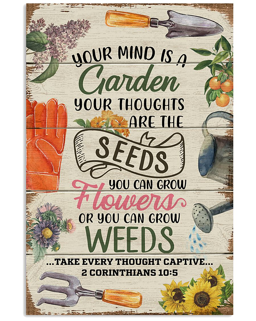 Pallet Your Mind Is A Garden  11x17 Poster