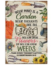 Pallet Your Mind Is A Garden  11x17 Poster front