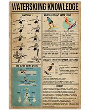 Waterskiing Knowledge 16x24 Poster front