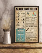 Waterskiing Knowledge 16x24 Poster lifestyle-poster-3