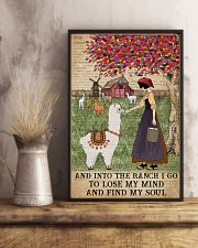 Dictionary Find My Soul Alpaca Farm Girl 11x17 Poster lifestyle-poster-3