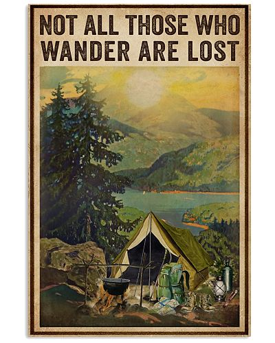 Vintage Wander Are Lost Camping