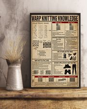Warp Knitting Knowledge 11x17 Poster lifestyle-poster-3