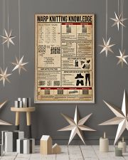 Warp Knitting Knowledge 16x24 Poster lifestyle-holiday-poster-1