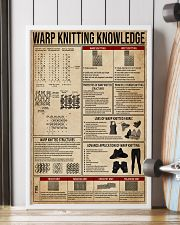 Warp Knitting Knowledge 16x24 Poster lifestyle-poster-4