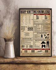 Warp Knitting Knowledge 24x36 Poster lifestyle-poster-3