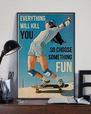 Skateboarding Choose Something Fun 16x24 Poster lifestyle-poster-2