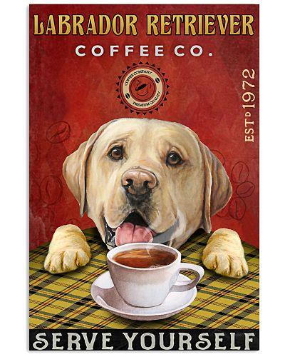Lazy Coffee Company Labrador Retriever