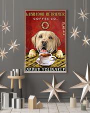Lazy Coffee Company Labrador Retriever 11x17 Poster lifestyle-holiday-poster-1
