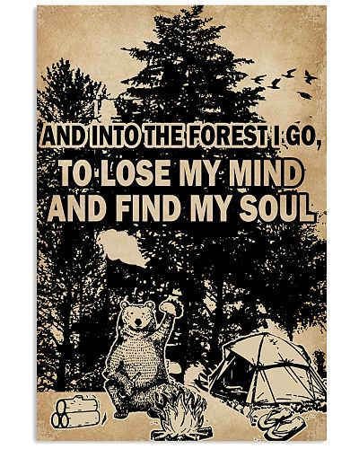 And In To The Forest I Go Bear