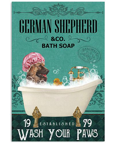 Green Bath Soap Company German Shepherd