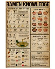 Ramen Knowledge 16x24 Poster front