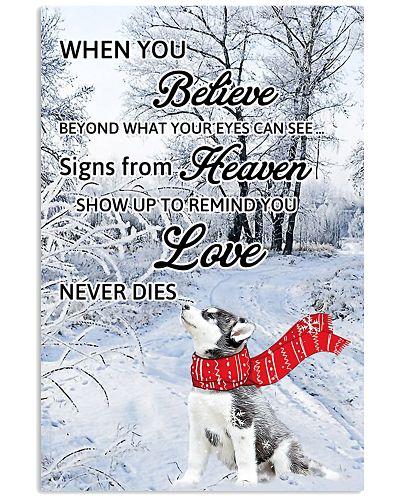 Husky Love Never Dies